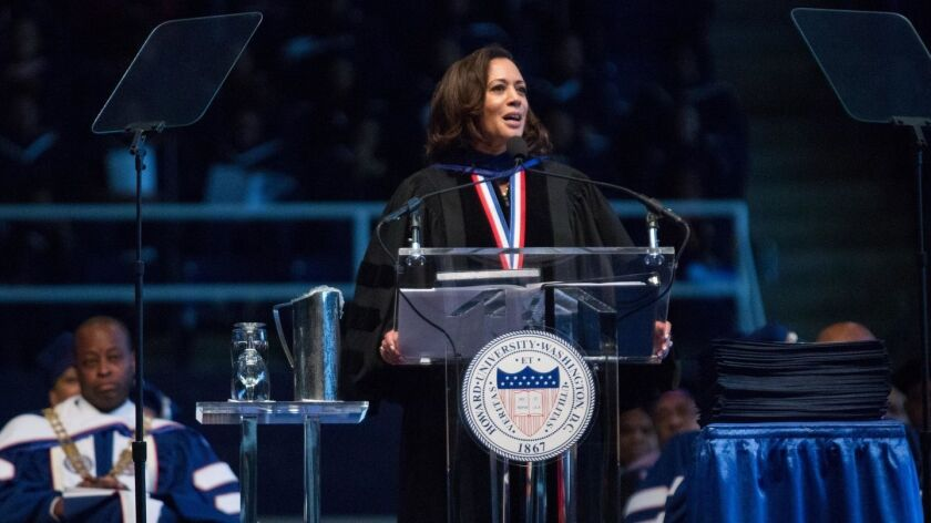 Kamala Harris Lays Out The Core Ideals Of Her 2020 Campaign In Her New Book The Truths We Hold Los Angeles Times