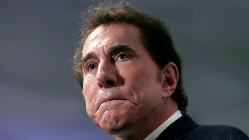 Steve Wynn at a news conference in 2016.