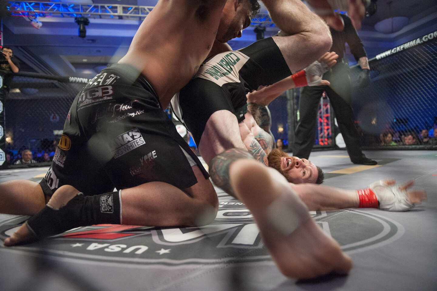 Photo Gallery: Burbank Beatdown MMA event at Burbank Marriott Convention Center