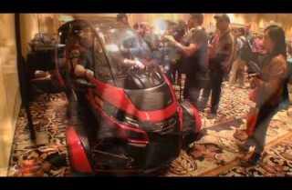 Arcimoto SRK electric three-wheeler