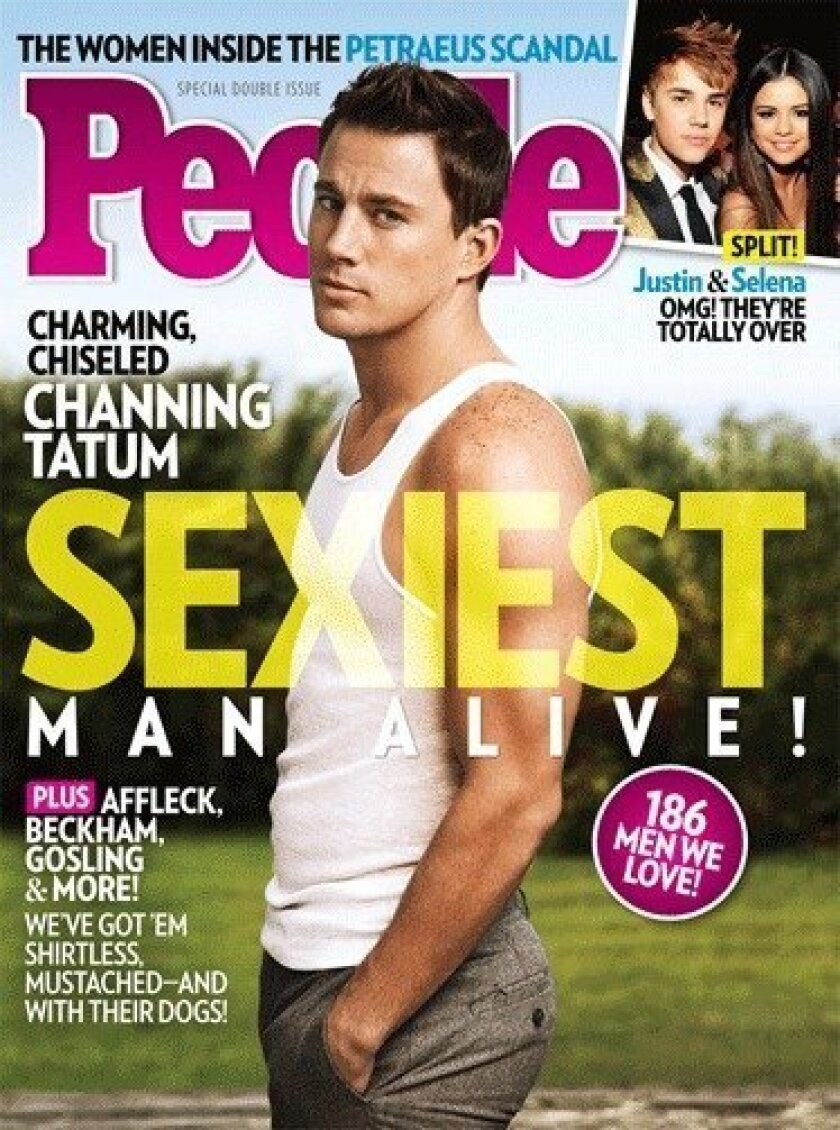 """People has chosen Channing Tatum as this year's """"Sexiest Man Alive."""""""
