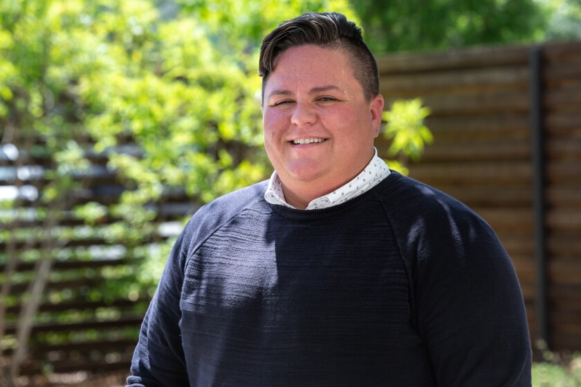 Bixby Marino-Kibbee has been named Champion of Pride for San Diego Pride 2020.