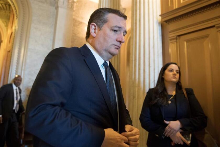 El senador republicano de Texas, Ted Cruz. EFE/Archivo