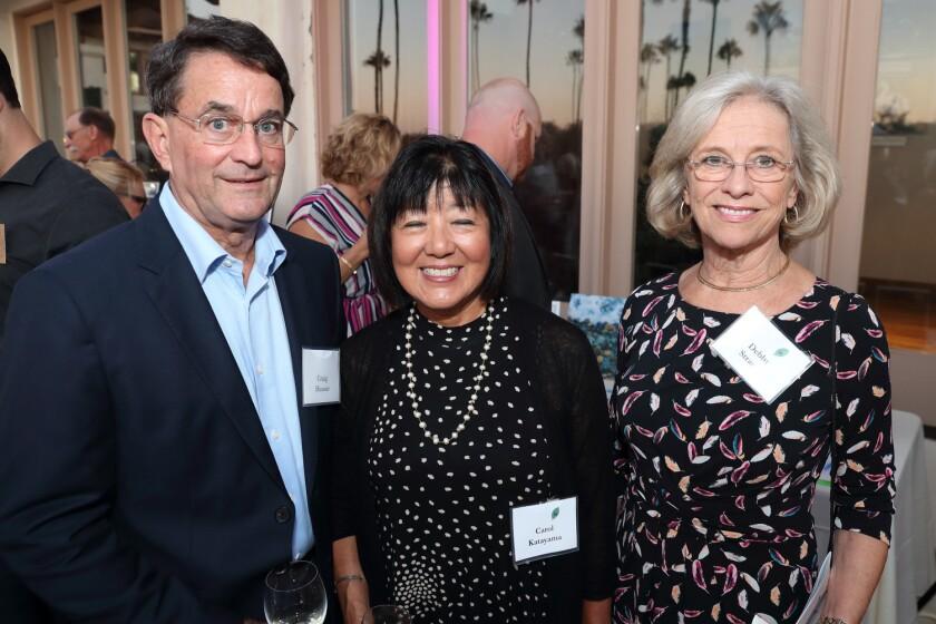 Craig Hauser, Carol Katayama, Debbie Strauss