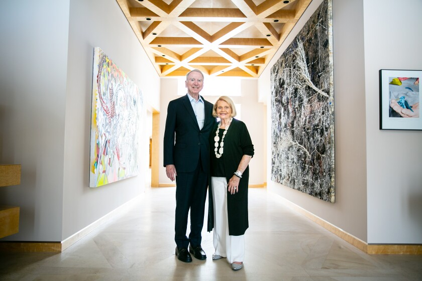 Irwin M. Jacobs and Joan Jacobs
