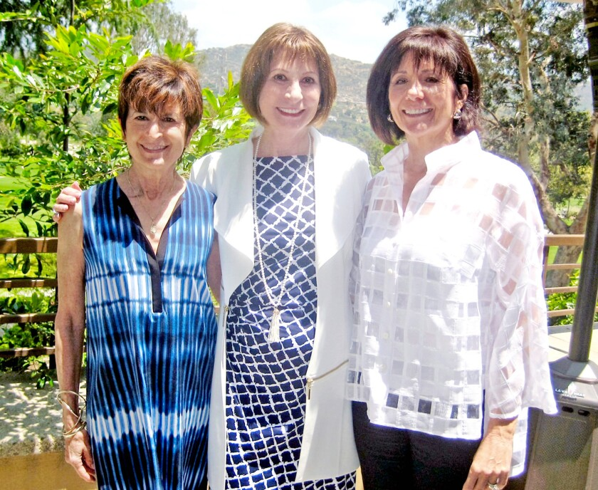 Karen Swan, Ellyn Semler and and Teresa Nall