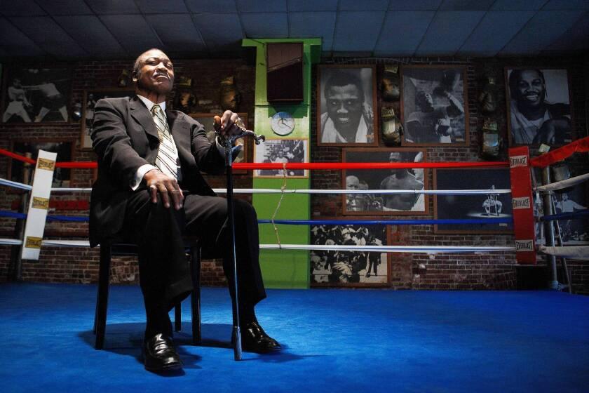 Fight is on to save Joe Frazier's gym in Philadelphia
