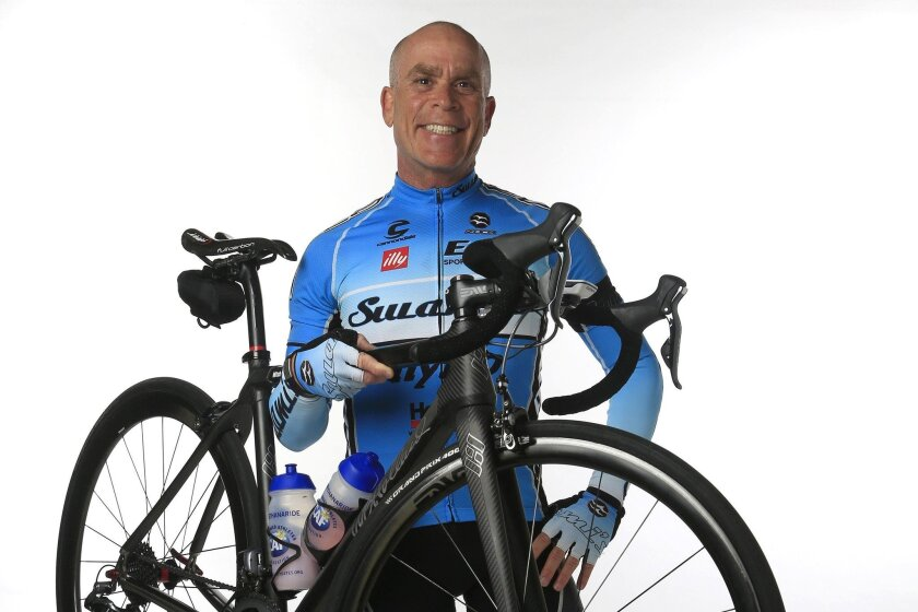 Mitchel Goldman is a local dermatologist and cosmetic surgeon, and at the age of 61, is an active cyclist in various cycling clubs, the Challenged Athletes Foundation Million Dollar Challenge ride, and a host at this weekend's AMGEN Tour of California from San Diego to Sacramento.