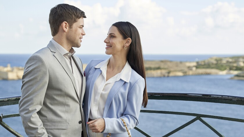 Man and woman on coast