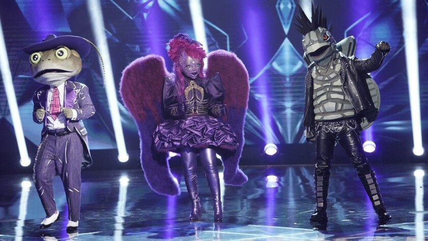 'The Masked Singer' on Fox.