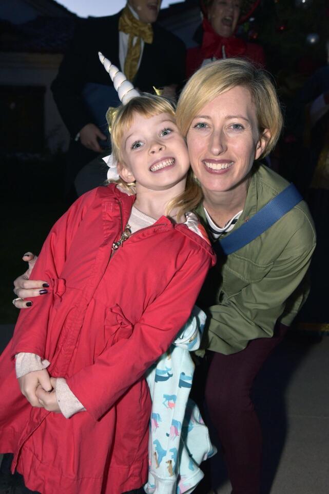 Christine Corra with Dorothy