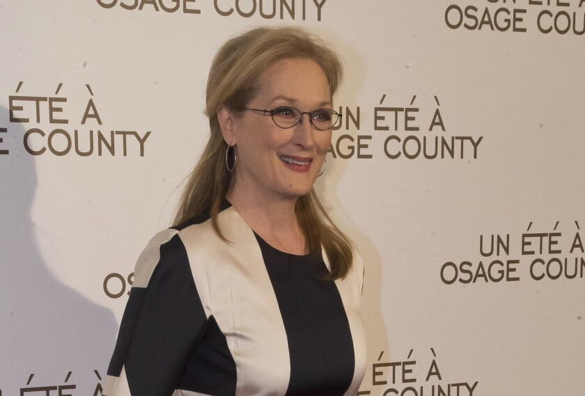 """The actress, shown here in February at the French premiere of """"August: Osage County,"""" is in final negotiations to join """"Suffragette."""""""