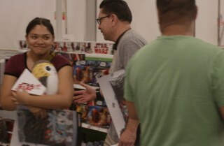 Fans line up to purchase new 'Star Wars' toys on Force Friday