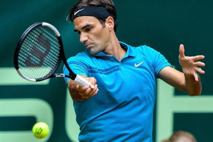 En la imagen un registro del tenista suizo Roger Federer. EFE/Archivo