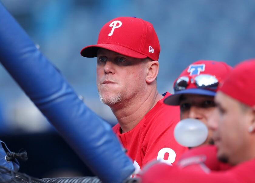 Philadelphia Phillies hitting coach John Mallee