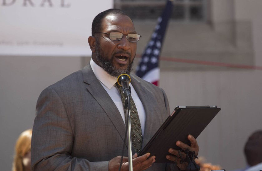 Bishop Cornelius Bowser of the Charity Apostolic Church is fo-founder of the Community Assistance Support Team (CAST), which aims to prevent group-related violence in San Diego.