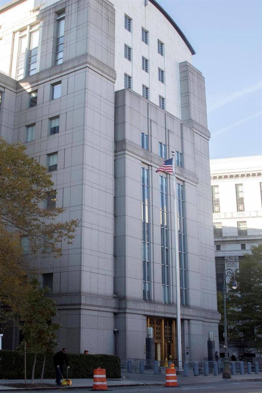 Vista del edificio de la Corte Federal del Distrito Sur de Manhattan. EFE/Archivo