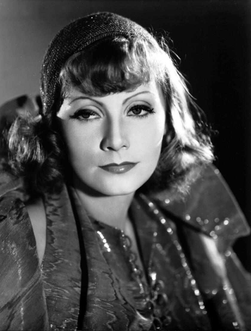 """**FILE** Film legend Greta Garbo, pictured in the 1931 film Susan Lenox (Her Rise and Fall),"""" was r"""
