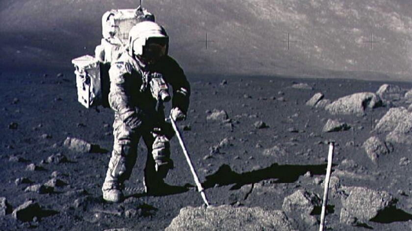 SCIENCE SPACE MOON ANNIVERSARY ROCKS APOLLO