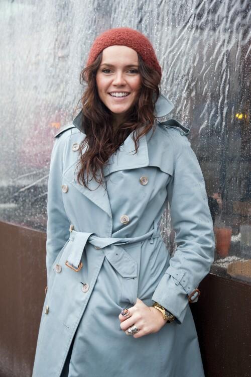 <b>Rainy day fashions</b>