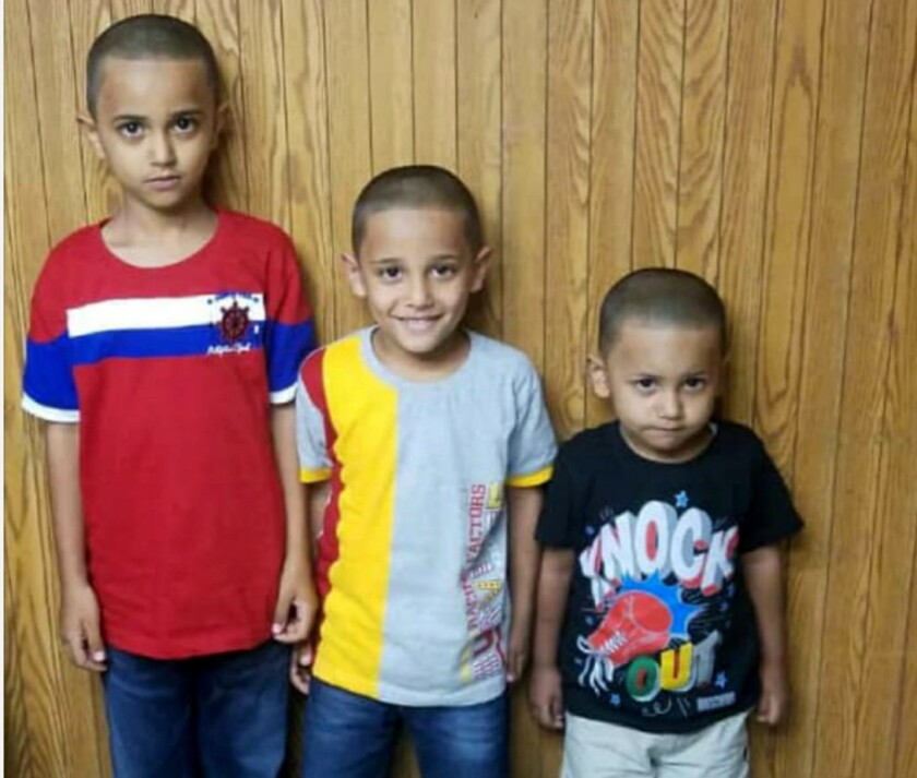 Mohammad Mohsin hasn't seen his three children in over a year. The U.S. citizen decided to send hi