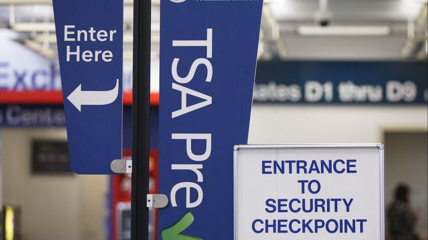 TSA screeners may ask you to remove snacks from your carry-on bag