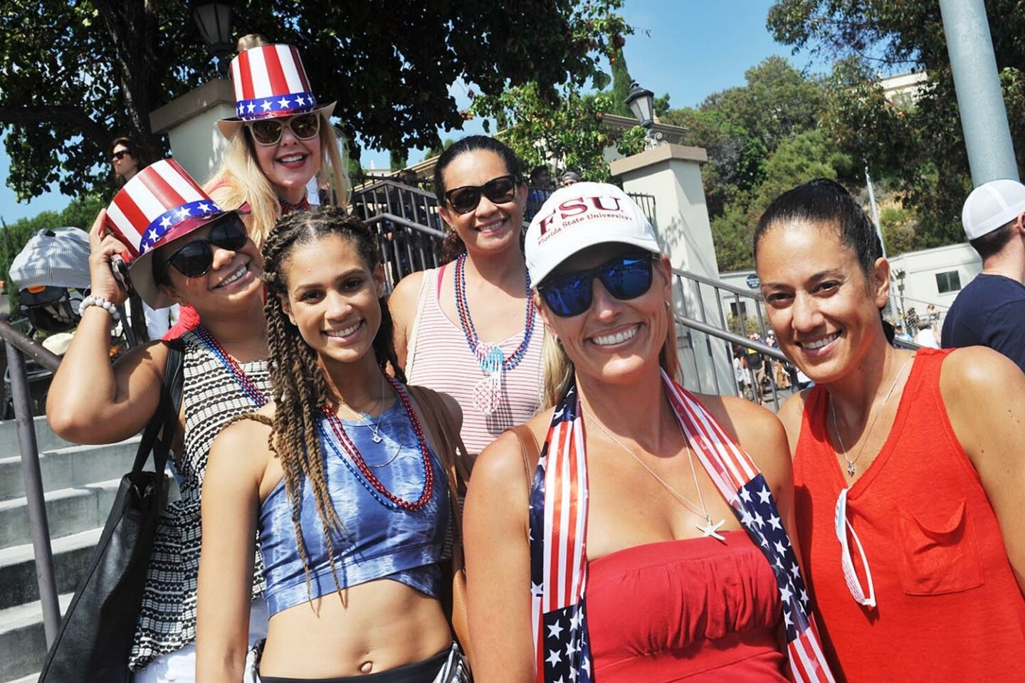 Locals caught the USA vs. Canada men's rugby game at the University of San Diego, which qualified USA for the Rugby World Cup, on Saturday, July 1, 2017. (Rick Nocon)