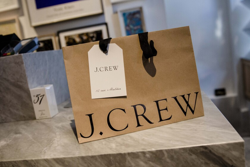 J. Crew is nearly $2 billion in debt, much of it from a 2011 leveraged buyout, and analysts say the company's problems cast a shadow on recent turnaround efforts.