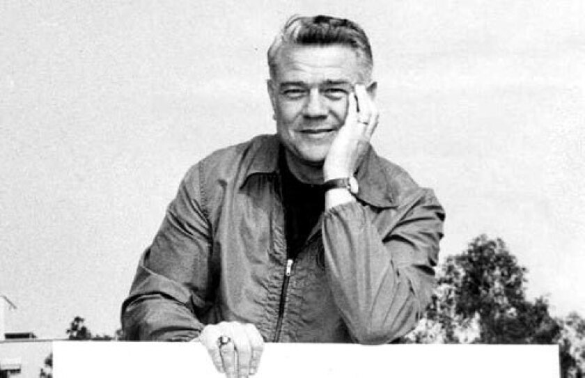 Bill Barnes, shown in 1962, coached the UCLA football team to a conference championship in 1961 before losing to Minnesota 21-3 in the 1962 Rose Bowl.
