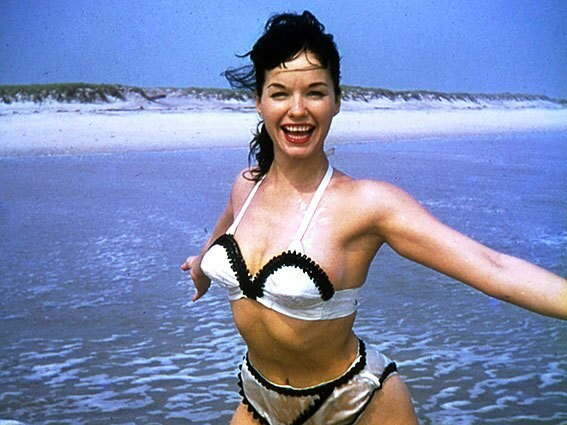 Bettie Page, the 1950s secretary-turned-model whose controversial photographs in skimpy attire or none at all helped set the stage for the 1960s sexual revolution.