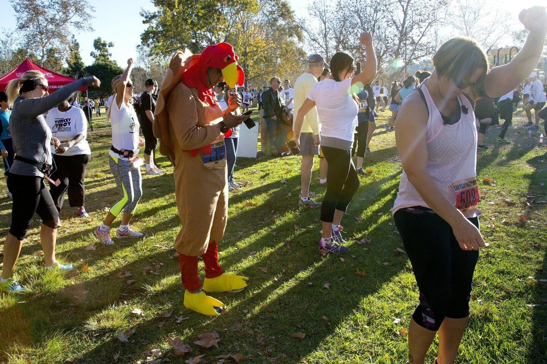 2014 San Diego Turkey Trot Run in Bonita