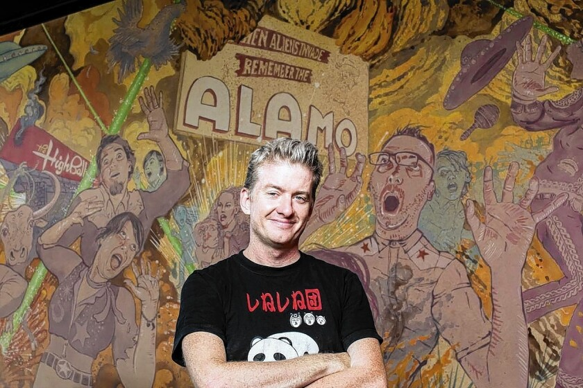 Tim League, founder of Alamo Drafthouse Cinema, has been eyeing the L.A. market for several years.
