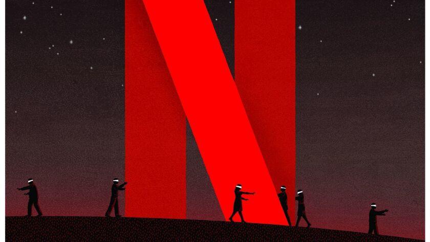 ONE TIME USE - Sunday Calendar January 27, 2019 Illustration to go with story on how Netflix keeps i