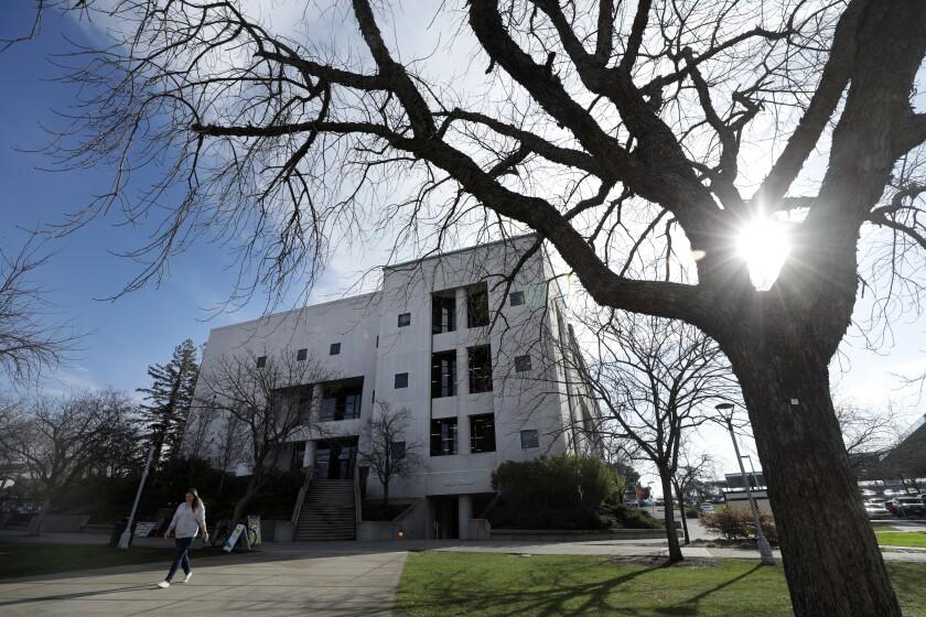 The Sierra College campus in Rocklin, shown on Feb. 21, 2020.