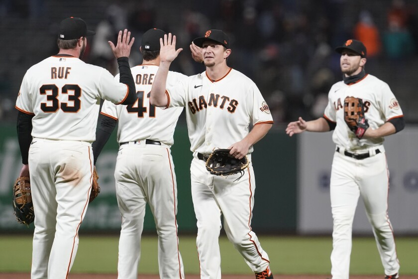 The Giants could foil the Dodgers, or help the Padres do it - Los Angeles  Times