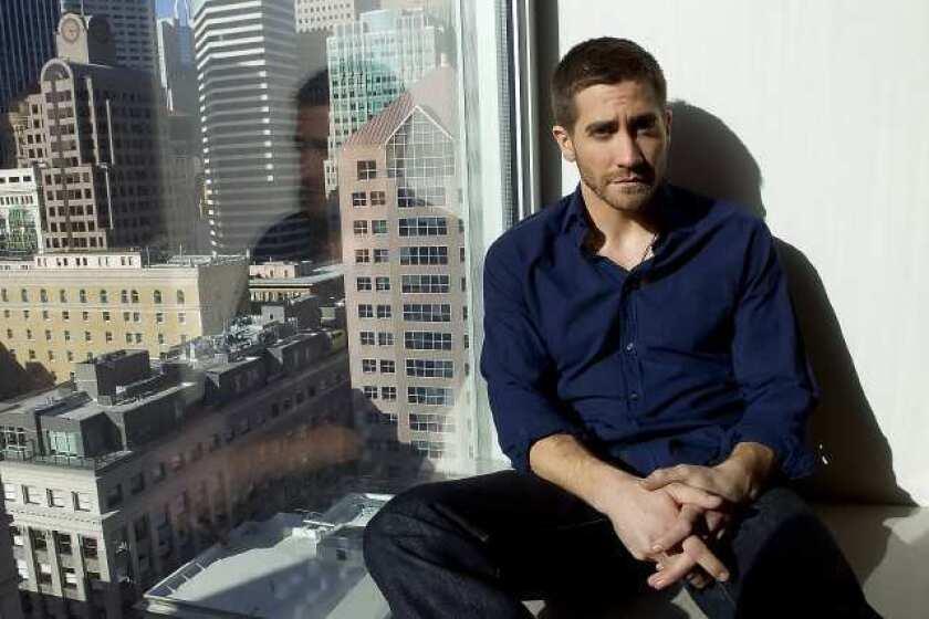 Jake Gyllenhaal in New York.