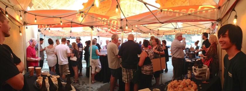 Baron's Market Backroom Beer Pairings.