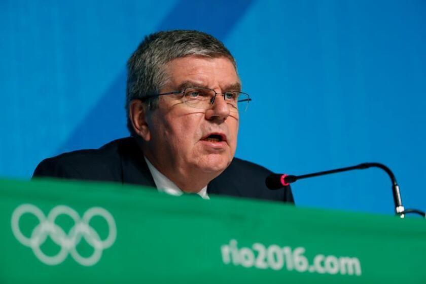 Thomas Bach, presidente del Comité Olímpico Internacional. EFE/Archivo
