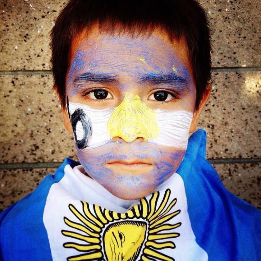 Foto de archivo de un menor argentino.