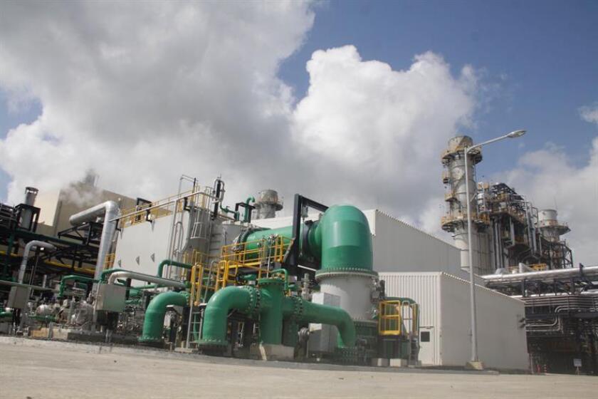 Vista general de las instalaciones de la planta AES Colón hoy, viernes 17 de agosto de 2018, en la ciudad de Colón (Panamá). EFE