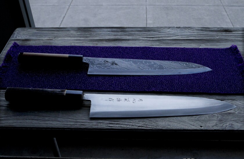Wrap your knife in a newspaper, and other tips from a master Japanese knife sharpener