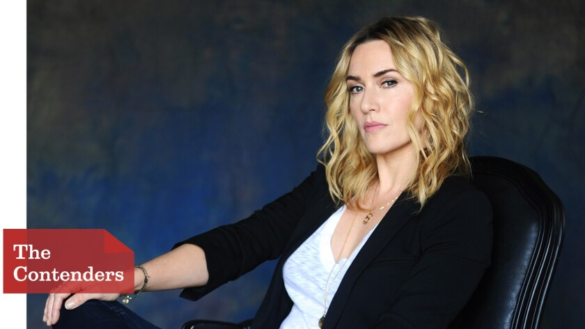 """Kate Winslet talked extensively with Joanna Hoffman, the woman she plays in """"Steve Jobs,"""" to master her accent."""