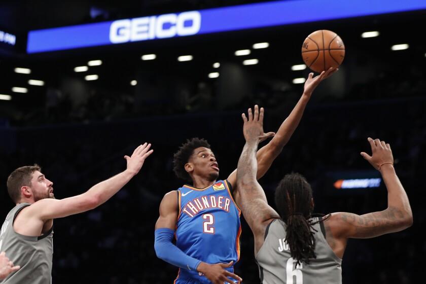 Thunder Nets Basketball