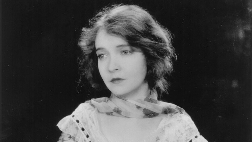 "Lillian Gish appears in a scene from ""The Wind."""