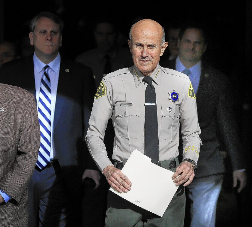 Sheriff Lee Baca