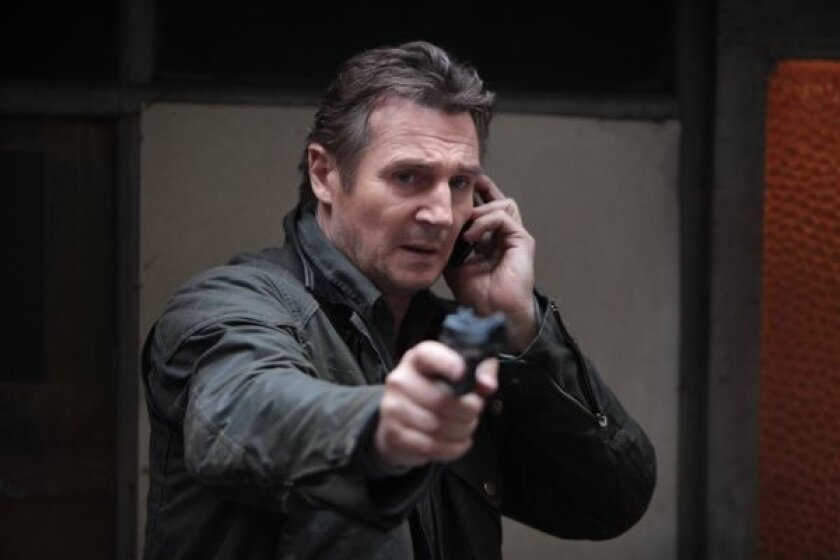 """Liam Neeson stars in """"Taken 2,"""" which is expected to dominate the box office this weekend."""