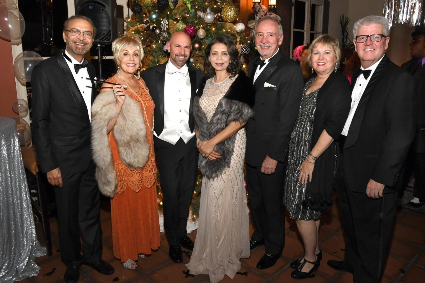 La Jolla's historic La Valencia Hotel threw a party nearly a century in the making, when it celebrated its 90th anniversary, Dec. 15, 2016 with a Gatsby-themed Gala. Proceeds benefited La Jolla Historical Society.
