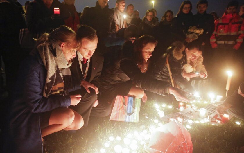Commemorations for victims of Brussels attacks
