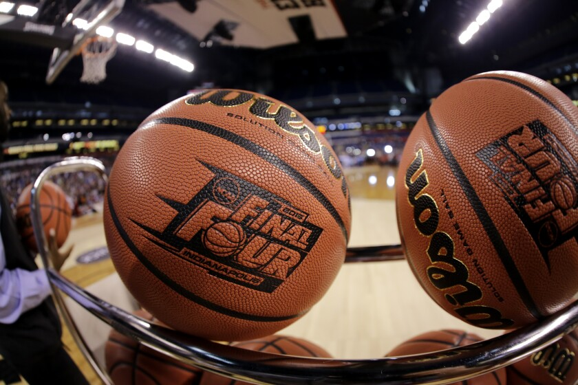 Virus Outbreak-Sports Basketball