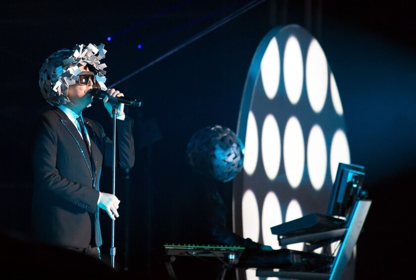 Pet Shop Boys vino a México en 2016.